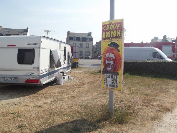 Reportage de l'été n°12 > Cirque Bostok à Roscoff