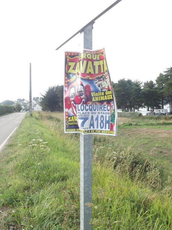Reportage de l'été n°14 >> Cirque A Zavatta à Locquirec