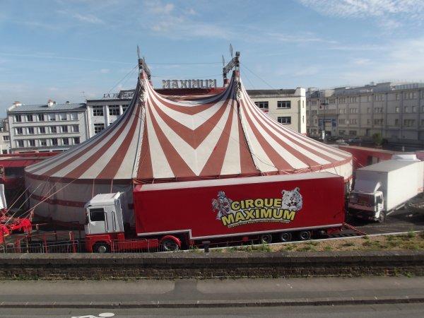 Reportage de l'été n°17 >> Le Cirque Maximum à Brest