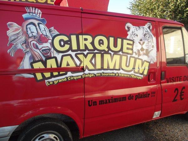 Reportage de l'été n°18 >> Le Cirque Maximum à Morlaix