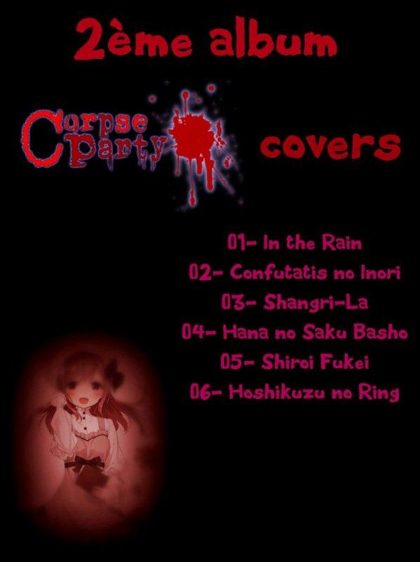 2ème Album - Corpse Party covers
