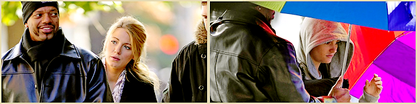 01•11•2011  ~ Blake était à la fête chrétienne cocktails Louboutin chez Barneys à New-York. Le moins que l'on puisse dire c'est que Blake et Christian Louboutin ont l'air d'être très bon amis, on les voit rigoler et même chahuter à l'extérieur !   ~    Top / Flop tenue(s) : TOP !  Blake porte évidemment les pigalles de Christian Louboutin ainsi que le sac. En revanchen la robe est de Dolce & Gabbana.