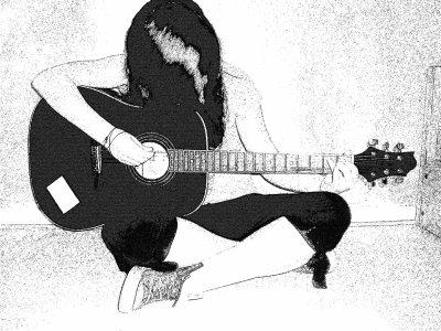 Guitariste..