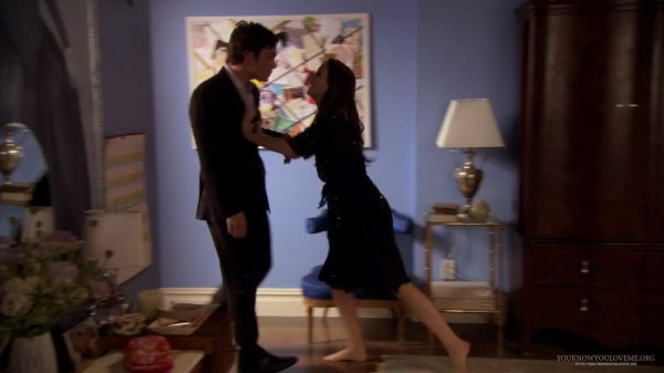 1x18 (Much I Do About Nothing) : Chuck & Blair
