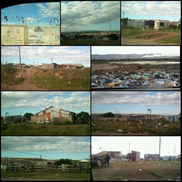 Facette pauvre  de Port Elizabeth