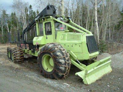 tracteur forestier franklin