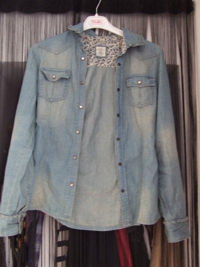 Chemise/veste en jean