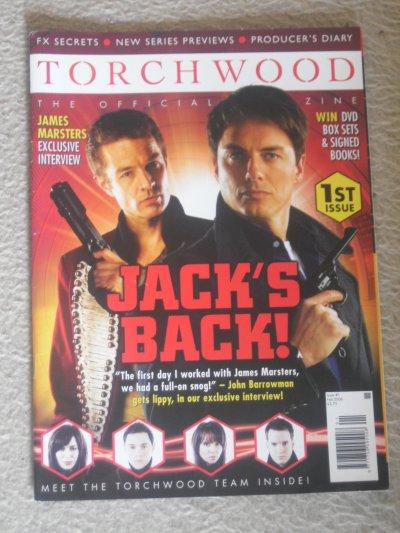 Torchwood Magazine n°1