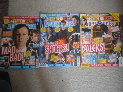 Doctor Who adventures (2)