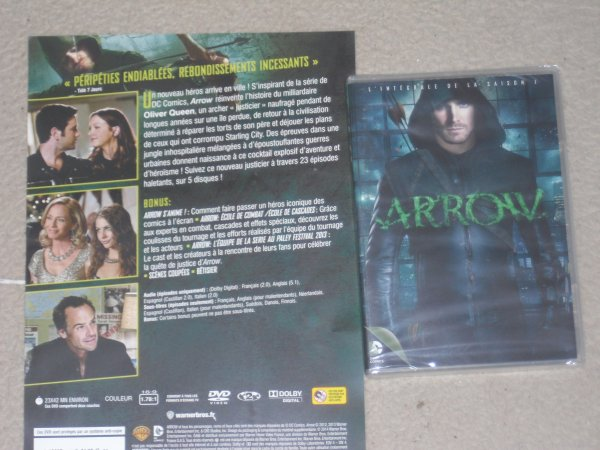 DVD Saison 1 d'Arrow