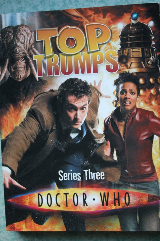 Top Trumps Doctor Who Series Three