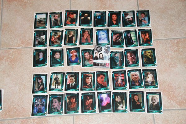 Torchwood jeux de cartes