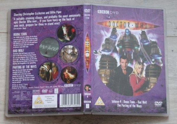 DVD Doctor Who volume 4 saison 1