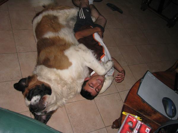 Mon homme et son chien Whisky - Sophie du 02 (Aisne)