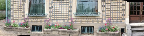 Voici l'extérieur du musée de Nancy
