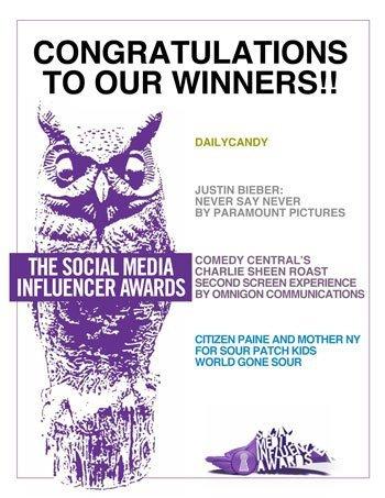 Encore un prix pour Bieber !