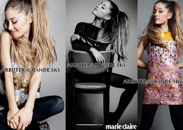 OCTOBRE 2014 - Ariana Pour Marie Claire