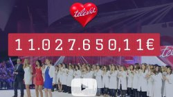 Record battu! Grâce à vous, le Télévie récolte un chèque impressionnant pour la recherche contre le cancer