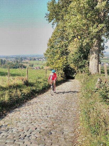 Léo et Guillaume sur les monts des Flandres