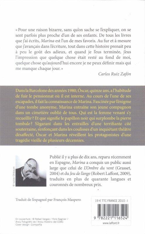 Marina - Carlos Ruiz Zafon