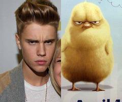 Oh, Justin !! Quel ressemblence !!
