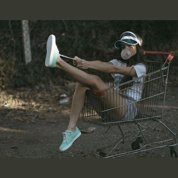 Photoshoot Converse avec Brenda Asnicar 2017