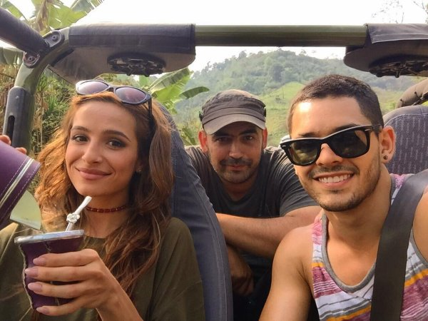 Brenda Asnicar pour le final de Cumbia Ninja 2015