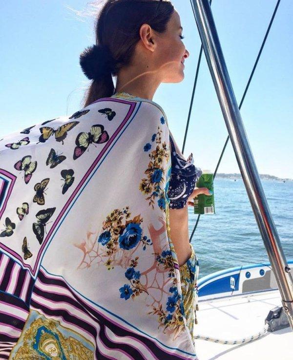 Brenda Asnicar photos personnelles 2017 _ Vacance à Cartagena / Isla del rosario