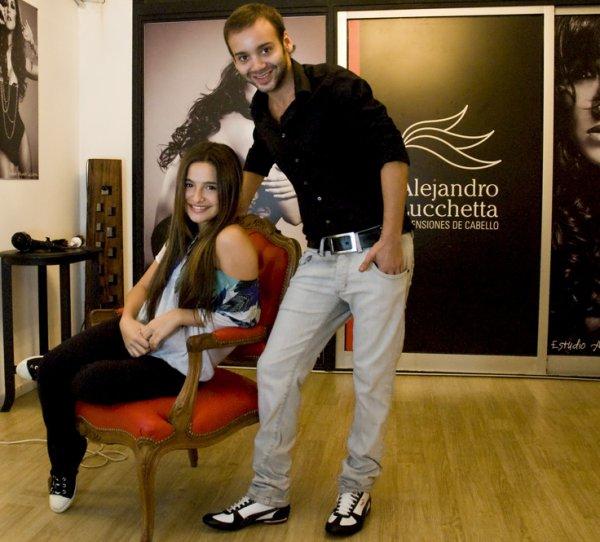 Brenda Asnicar pour Alejandro Lucchetta 2010