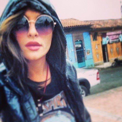 Brenda Asnicar à Bogota 2013