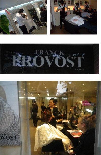 Visite d 39 entreprise salon de coiffure franck provost - Salon de coiffure franck provost tarifs ...