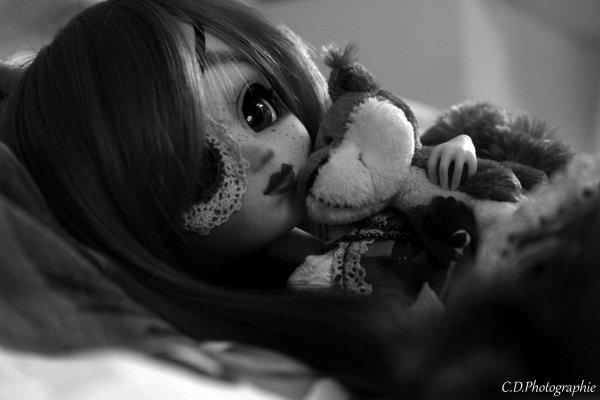 Douceur en noir et blanc