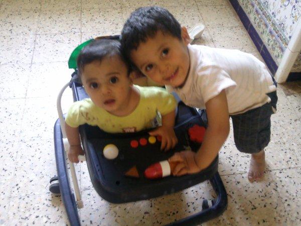 ~ Nadir & Adlaine Mes fils ~ Mes vies ♥