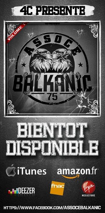 Le Ep 11 Titres Des 4C Assoce Balkanic Bientot Disponible