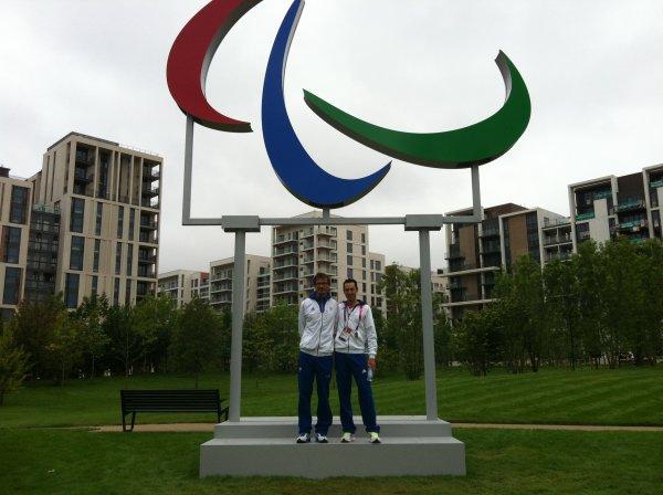 Arrivée au village Paralympique