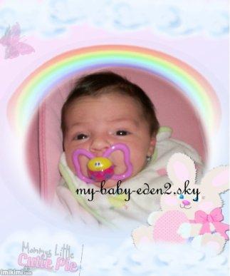 1 mois de la petite fée