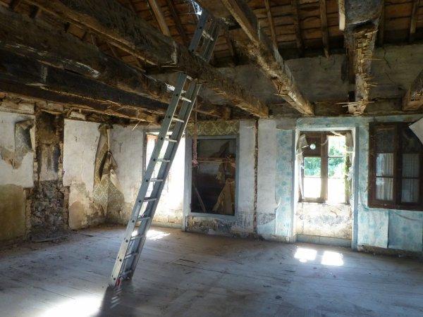 Notre maison - l'intérieur avant travaux