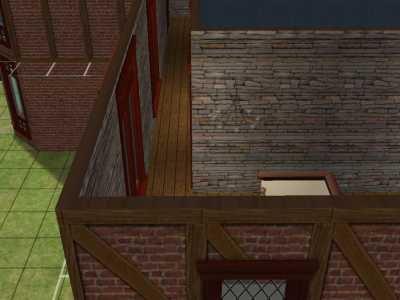 Le Second Etage : Palier, Buanderie et Salle de Bain
