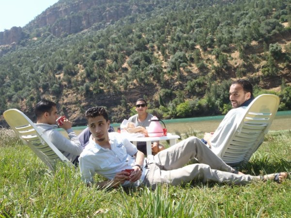 Lac Bin El Ouidane 2013
