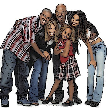 Série : Ma Famille D'abord. (l)