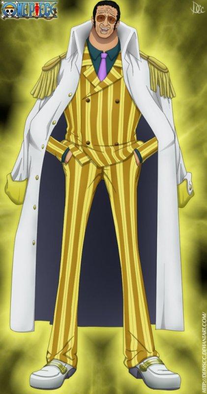 """Borsalino """"Kizaru"""" (amiral de la Marine)"""