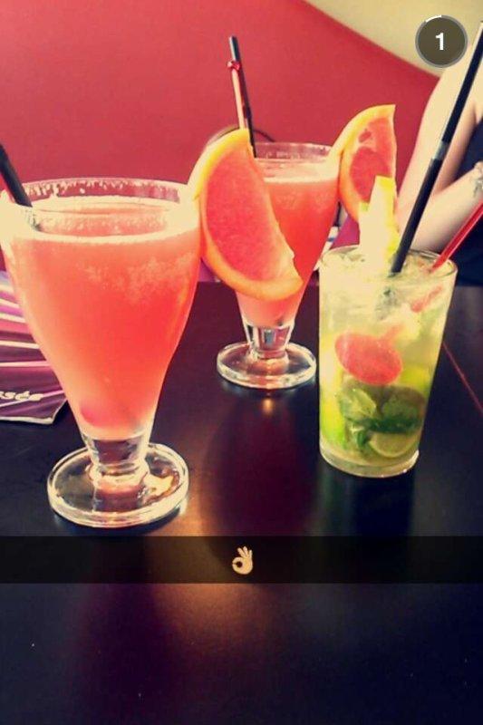 Petite vodka/fruit entre amis :p