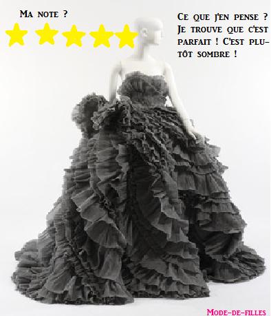 Grande robe noir
