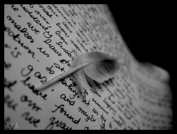 J'écris