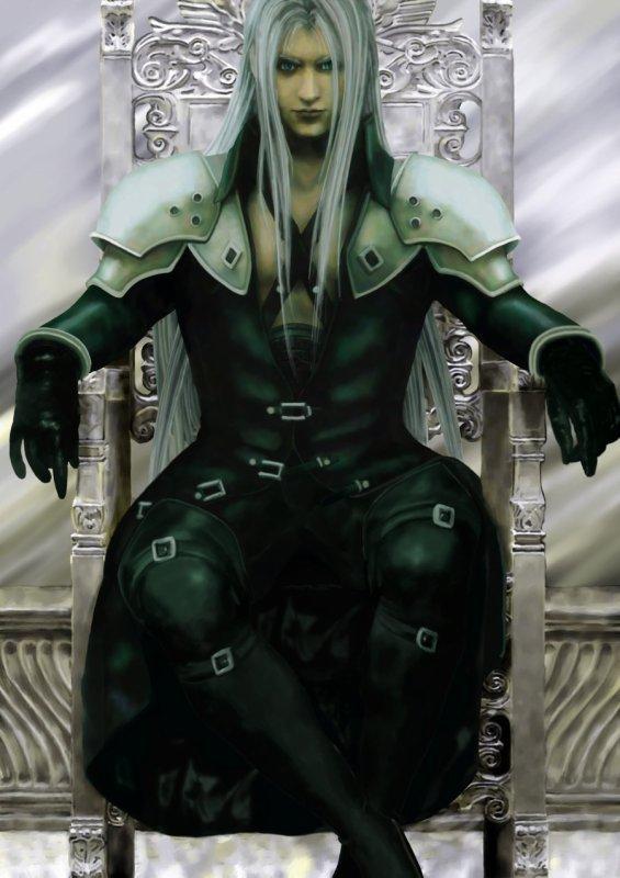 Sephiroth dans royaume