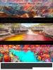 Les endroits les plus colorés du monde.