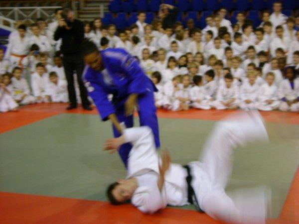 gala des sports et seance judo avec Lucie Decosse
