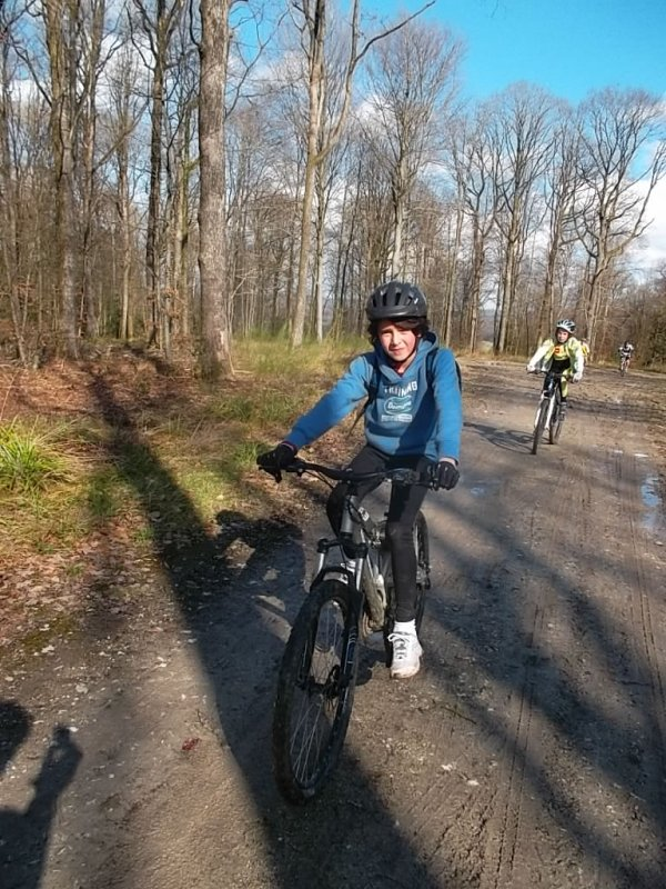 ecole vtt a la Grange aux bois le 9 mars 2013