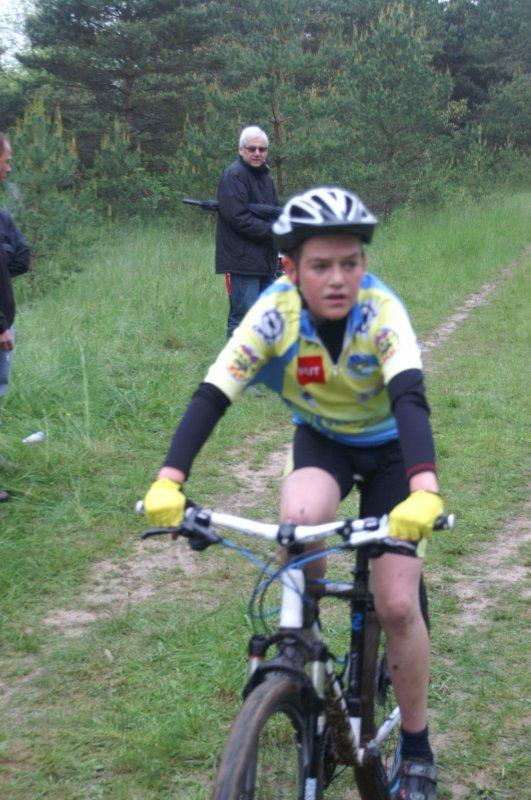 course vtt Mourmelon