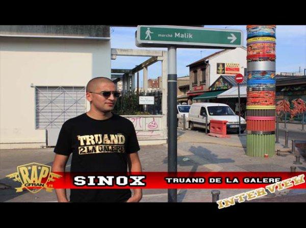 Sinox - Interview | LE VRAIS PROBLEME DANS LE RAP C'EST QUAND ON PARLE ARGENT |